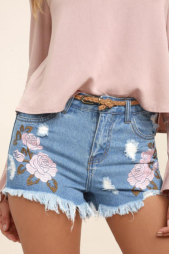Floral Shorts 2 Lulus