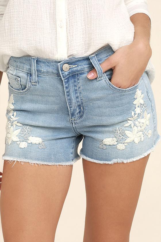 Floral Shorts Lulus